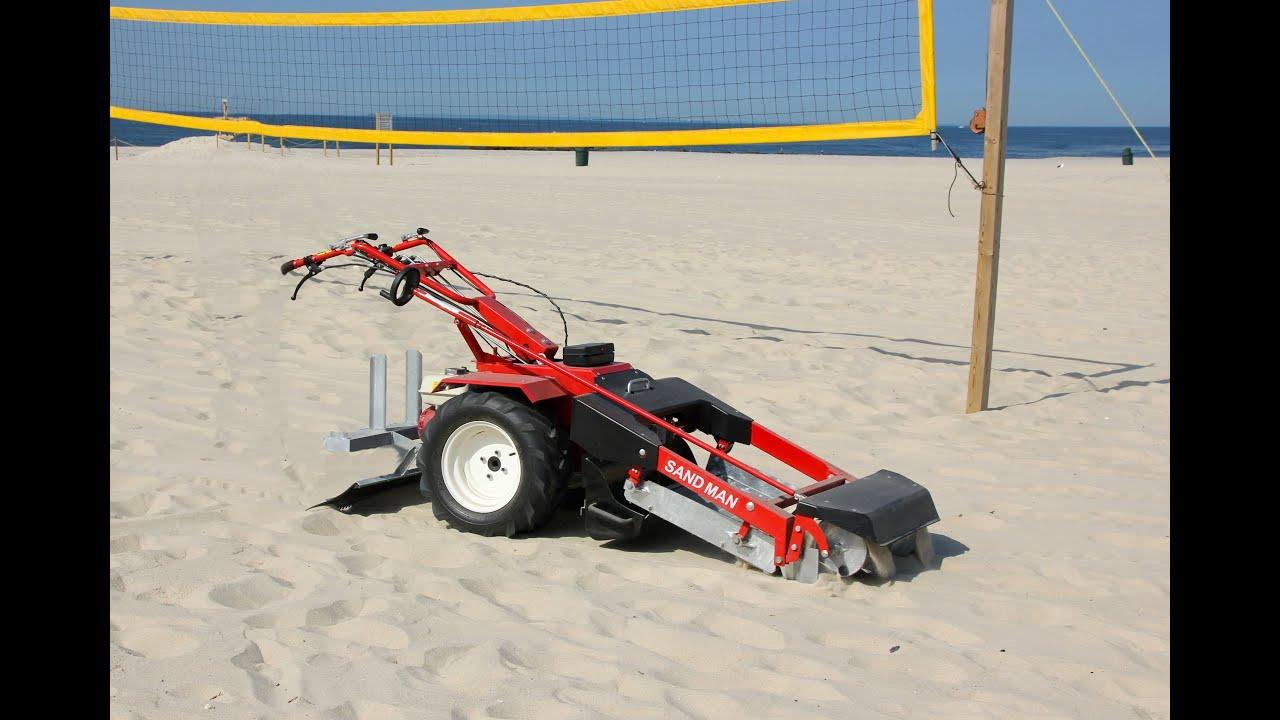 Beach Sand Cleaner Beach Volleyball Court Sand