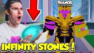 COLLECT THE INFINITY STONES AND DEFEAT THANOS TO GET THE INFINITY GAUNTLET!! (Roblox)