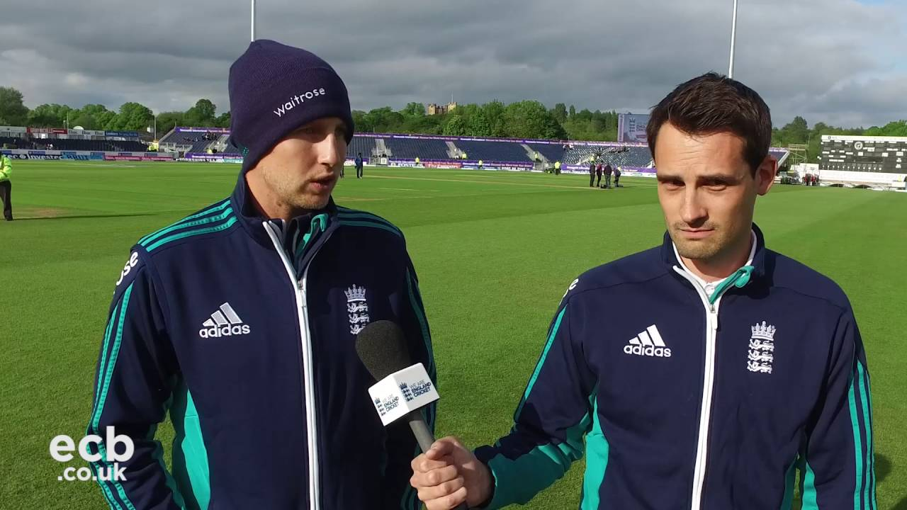 Walk and talk with Joe Root after day one in Durham