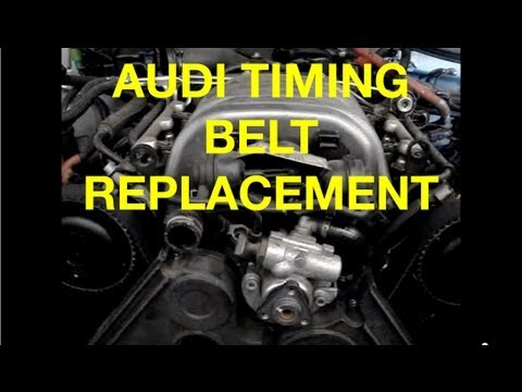 HOW TO replace a Audi A6 3.0L Timing Belt