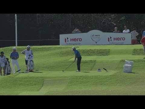 Graeme McDowell's excellent tee shot yields eagle at Hero