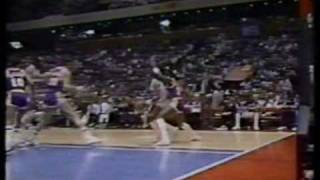 Classic 80s NBA Basketball Footage