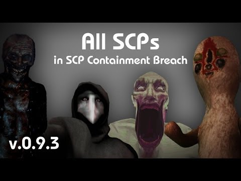 All SCPs in SCP Containment Breach (v0.9.3)
