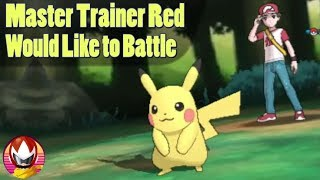 Pokemon Master Trainers RED and BLUE Could be in Pokemon Let's GO?!
