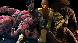 Mortal Kombat X Mobile - Triborg & Diamond Characters