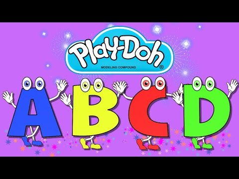 Alphabet Learning Abcd For Children ♦ Play Doh ♦ Teaching Colors Video video
