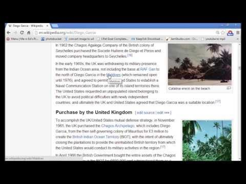 Eerie 2013 Video About DIEGO GARCIA LINE OF DEATH Points To Missing Plane!
