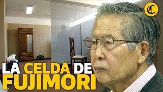 La celda de Fujimori
