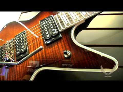 Dean Guitars 2014 N.A.M.M. Cadillac 1980 Flame Top Floyd