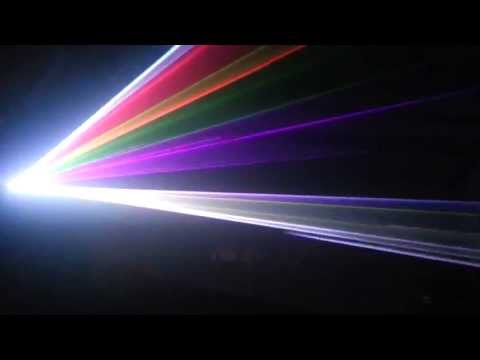 Pro Disco Dj Stardard Lighting Package Plus FULL COLOR LASER HD