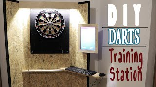 DIY | Darts Trainingsstation mit RaspberryPI und altem Laptopbildschirm einfach selber machen