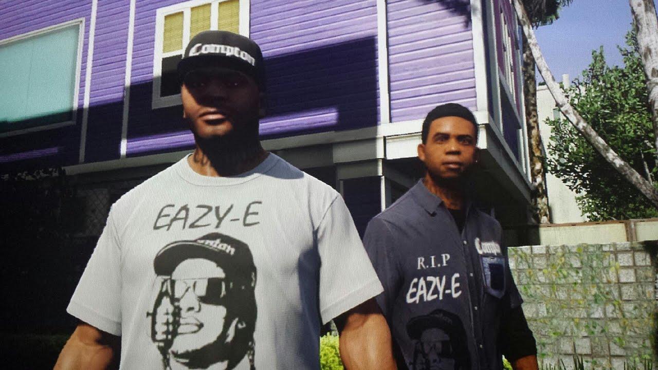 GTA 5 (Boyz n the hood) Eazy E Tribute mod ps3 - YouTube
