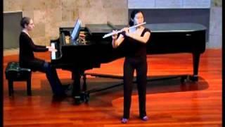 Mozart Concerto in D, I. and Poulenc Sonata, I & II; Annie Wu, flute