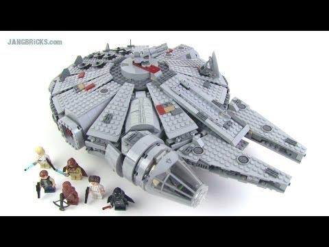 LEGO Star Wars Millennium Falcon 7965 set Review!
