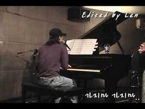 가지마가지마.. 『 piano, vocal by Len 』