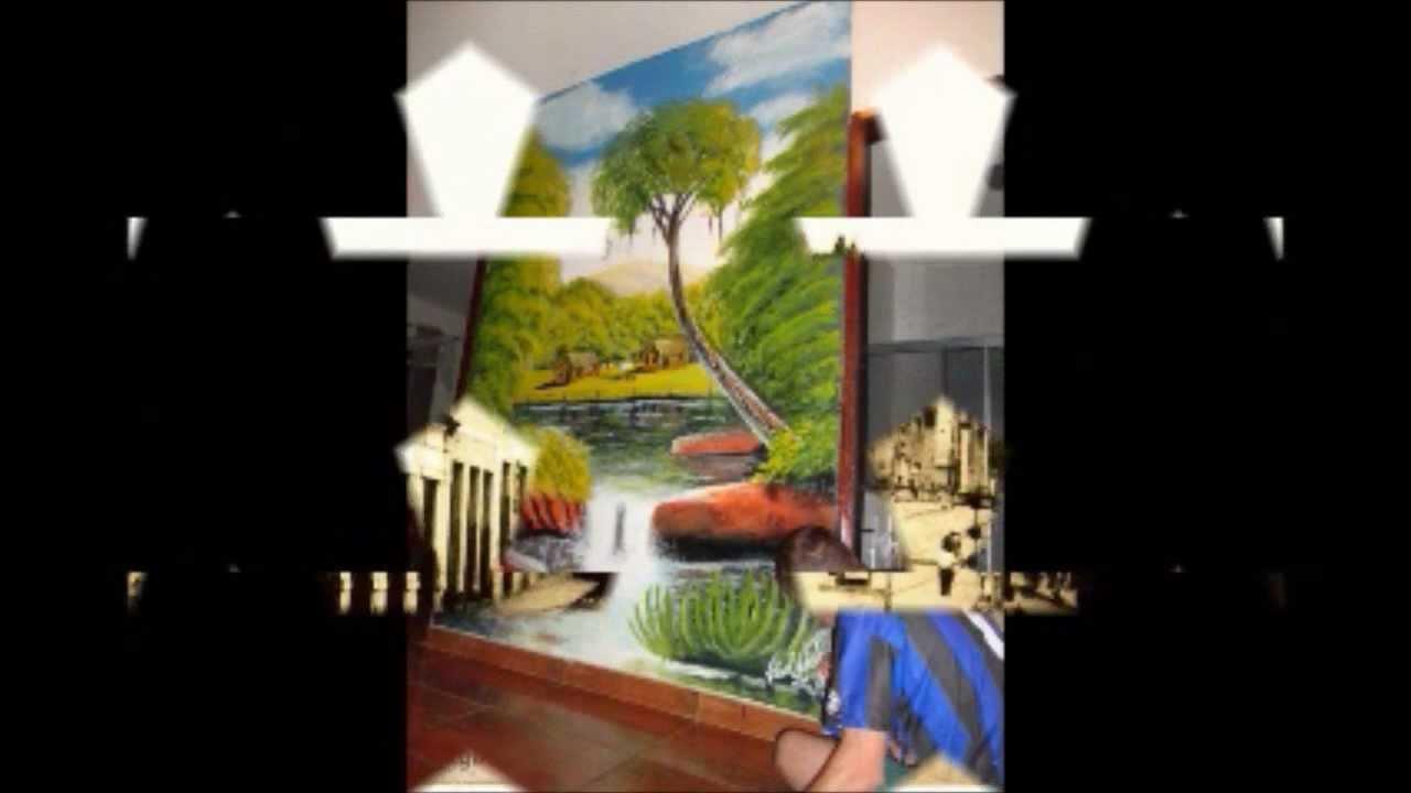 Par de minas pinturas artisticas em paredes de vitor for Paredes artisticas