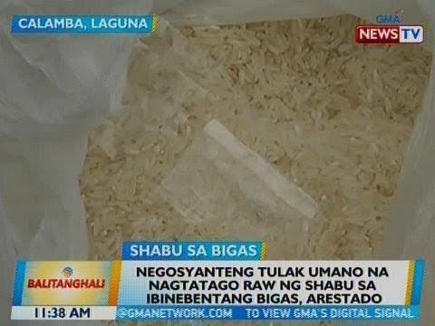 BT: Negosyanteng tulak umano na nagtatago raw ng shabu sa ibinebentang bigas, arestado sa Laguna thumbnail