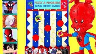 Los personajes de Spider-Man: Un nuevo universo Juegan al Juego de los Discos Con Peter Porker