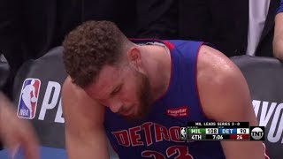 Blake Griffin gets STANDING OVATION after playing INJURED in playoffs! Bucks vs. Pistons Game 4