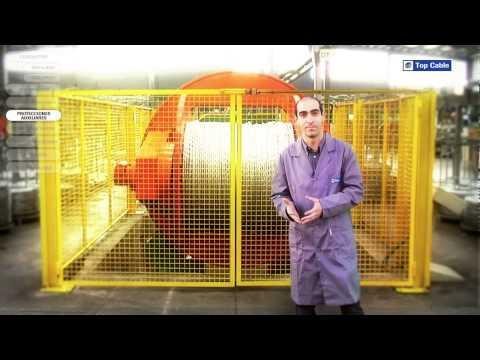 ¿Como se fabrica un cable eléctrico?.mov