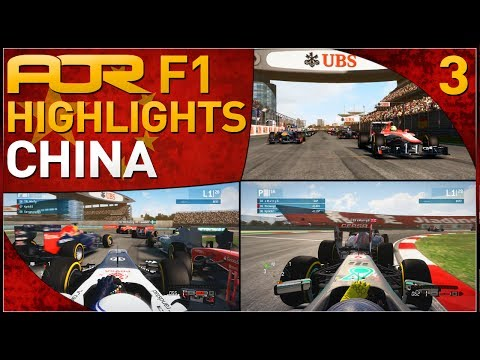 F1 2013 | AOR F1: S8 Round 3 - Chinese Grand Prix (Official Highlights)