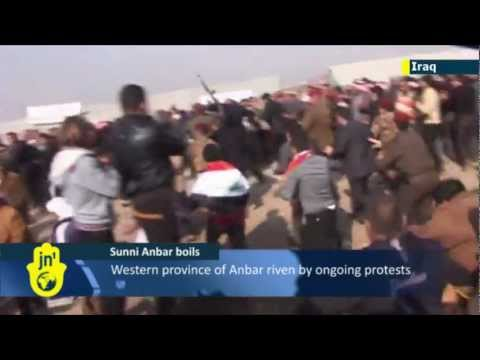 Iraqi unrest: Demonstration turns violent in Sunni-dominated Anbar