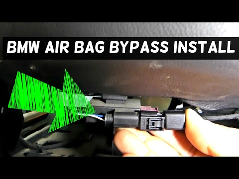 BMW PASSENGER SEAT Occupancy  AIRBAG MAT BYPASS INSTALL. DOES IT WORK?