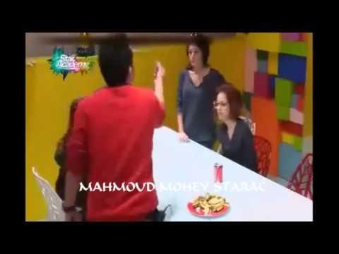 لعبة الصراحة (ج3) ومشادة كلامية بين محمود وسكينة وزينب 8-12-2013
