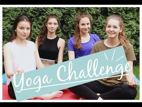 Yoga challenge | Lina és Panni