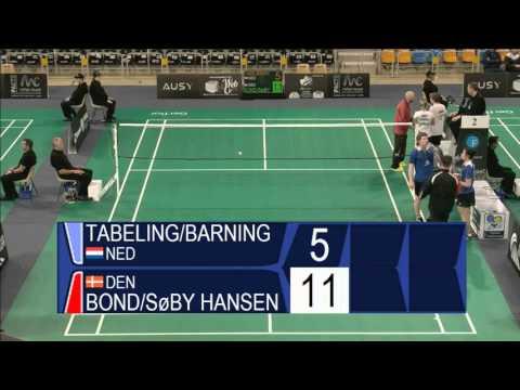 Tabeling / Barning vs Bond / Søby Hansen (XD, R32 ) - Orleans Intl. 2016