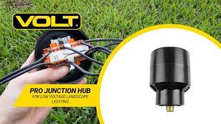 VOLT® Pro Junction Hub | Low Voltage Landscape Lighting