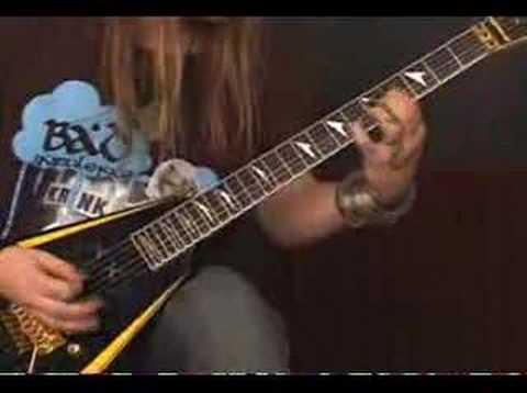 Alexi Laiho guitar lessons