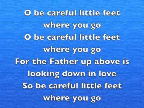 O be careful little eyes Cedarmont kids - YouTube