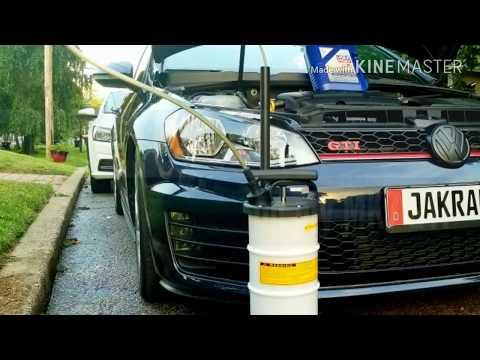 Topside Oil Change on VW GTI
