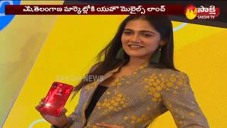 Yuho Smart Phone Launched By Actress Simran Choudhary   Hyderabad