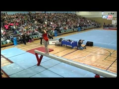 Rebecca Tunney - British Team Championships- Beam