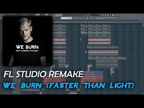 Avicii - We Burn(Faster Than Light) (CRZYRAGE Remake)