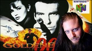 Goldeneye 007 - 00 agent difficulty (On actual N64) (streamed: 10/19/2018)