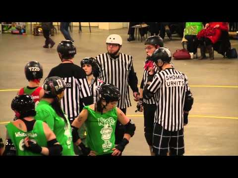 Naughty or Nice - Gas City Rollers & Lethbridge Derby Dames @ Medicine Hat (2013)