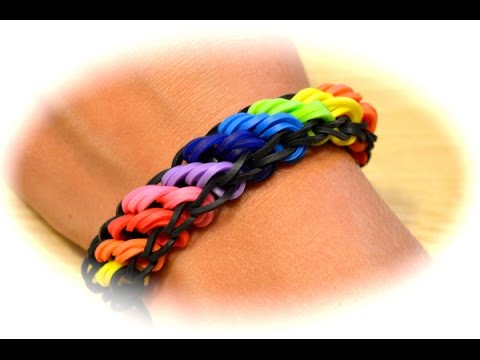 rainbow loom rotini armband deutsche anleitung youtube. Black Bedroom Furniture Sets. Home Design Ideas