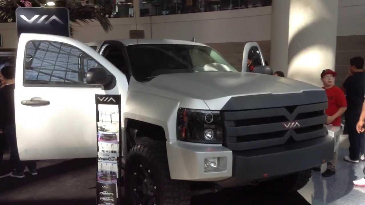 Solar Electric Hybrid Pickup Truck Youtube