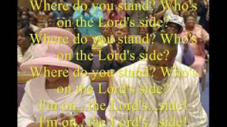 Who's on the Lord's Side by Rev. Timothy Wright and the Timothy Wright Concert Choir