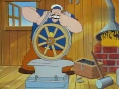 Popeye der Seemann S01 E11 German (Deutsch)