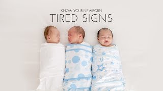 Baby Tired Signs