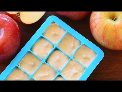 Chicken & Apple baby food recipe +7M