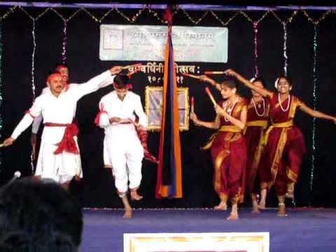 Group Dance Of Kannada Folk Song video
