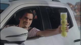 "tennis-i.com Федерер в рекламе ""Mercedes Benz X Class 2018"""