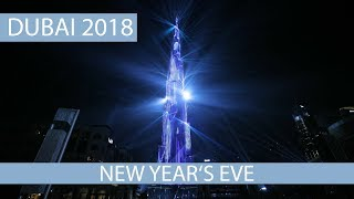 New Years Eve Dubai 2018 - Burj Khalifa