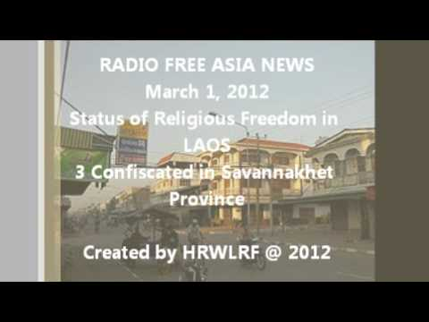 Religious Freedom in Laos (report in Lao language) (RFA)