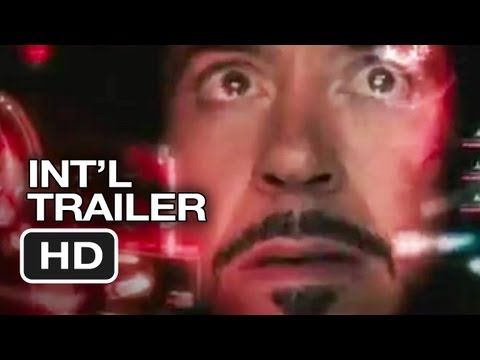 Iron Man 3 Official International Trailer (2013) Marvel Movie HD